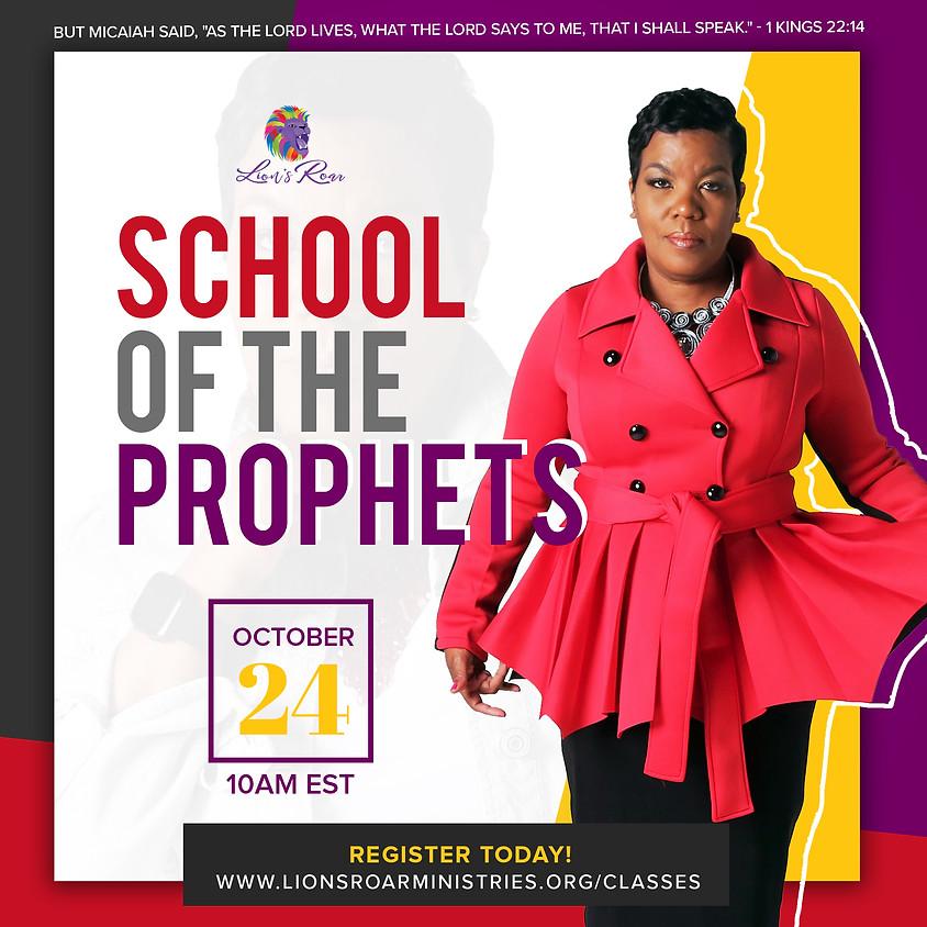 School of the Prophets Online 10.24