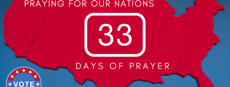 33 Days of Prayer Notes