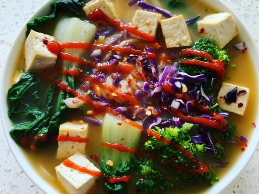 20-Minute Broccoli Curry Ramen