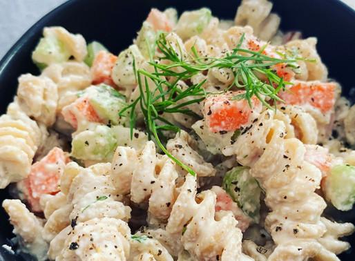 Creamy WFPB Macaroni Salad