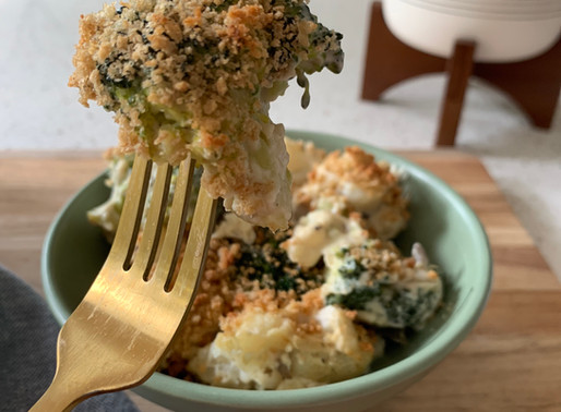 Creamy Broccoli Cauliflower Casserole