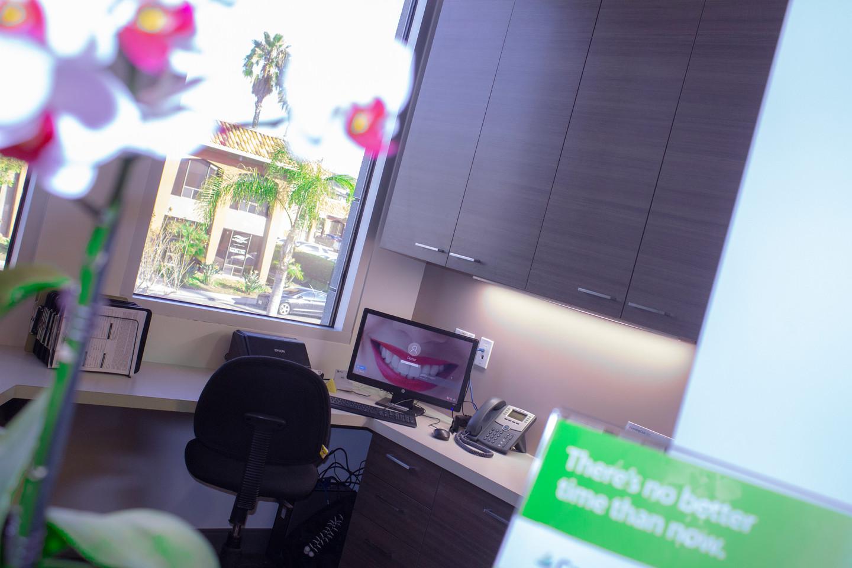 San Marcos Dental Studio Reception Area