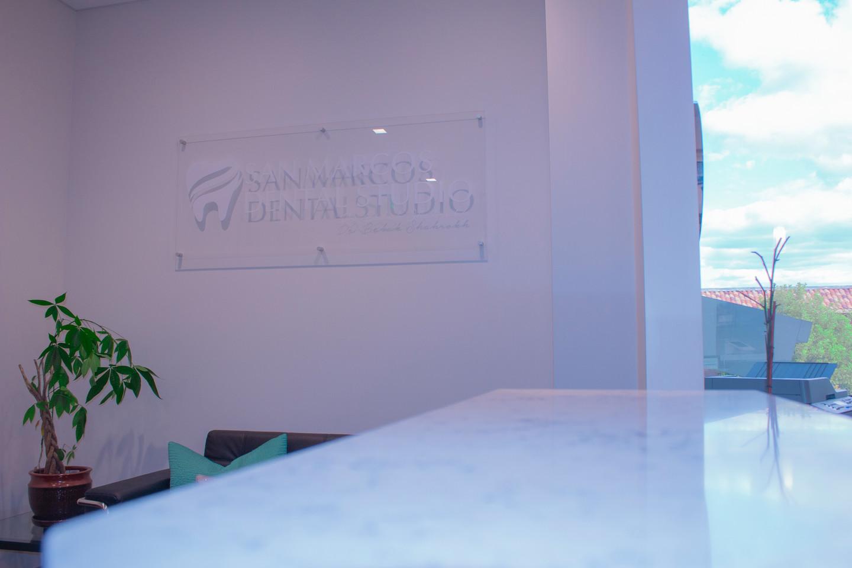 San Marcos Dental Studio Sign