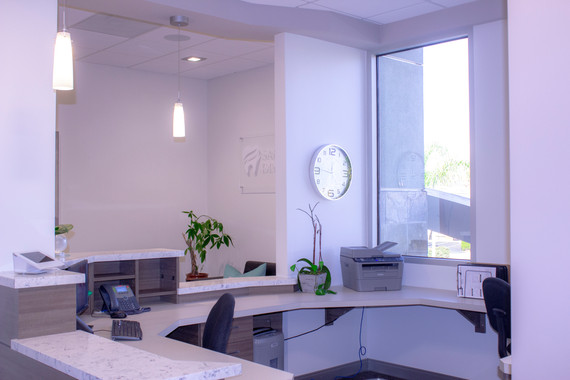 San Marcos Dental Studio Reception Area