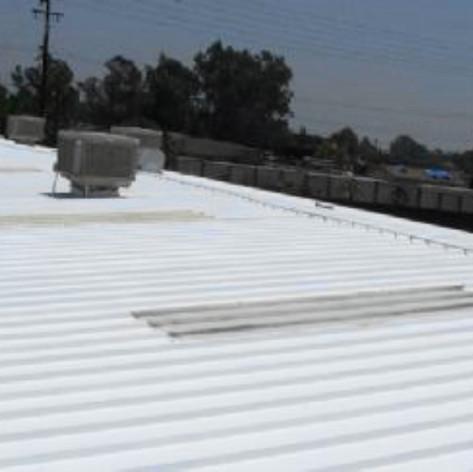 Structural Metal Panel Roof Restoration.