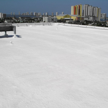 Polyester Reinforced Roof Coating