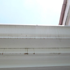 Leaks coming from drip edge.