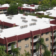 Community With Energy Star Roof Coating