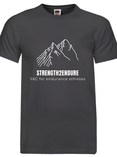 Strength2endure 'charcoal' running/training top