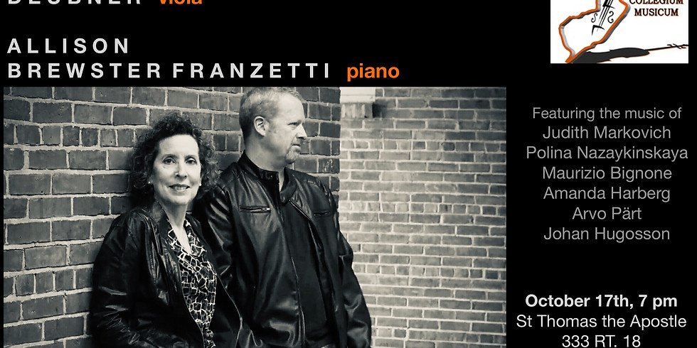 R..E..S..E..T: A Concert of Hope with Brett Deubner and Allison Brewster Franzetti