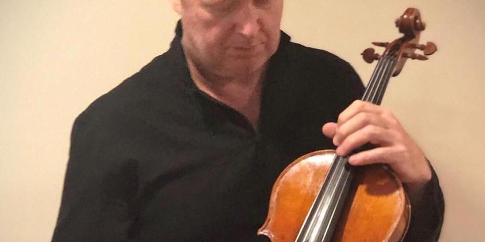 Brett Deubner in recital