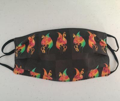Duane Allman's Clapton Shirt Gryphons Face Mask