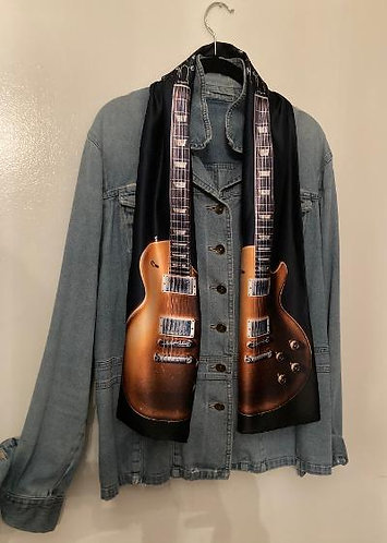 Exclusive Duane Allman's Goldtop Image Scarf for Guys & Gals