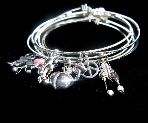 Stackable Bangle Bracelets Various Musicians