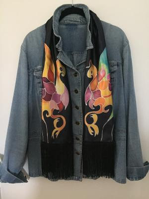 Duane Allman Gryphon Shirt Replica Scarf