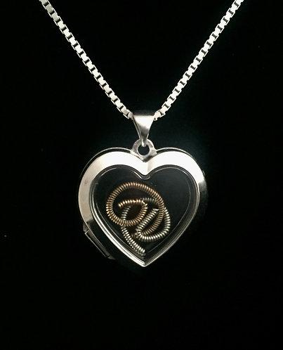 Derek's & Susan's Strings: Sterling Heart Locket