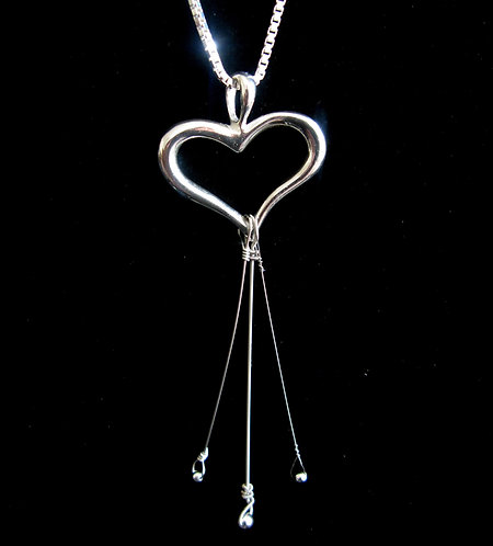 ABB Open Heart Pendant