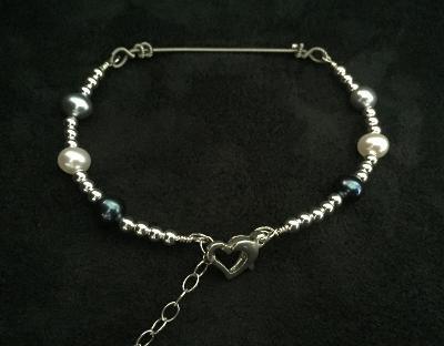 One-of-a-Kind Gregg Allman String & Pearls Bracelet