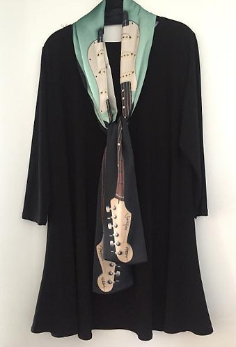 Fender Strat Guitar Scarf for Guys & Gals