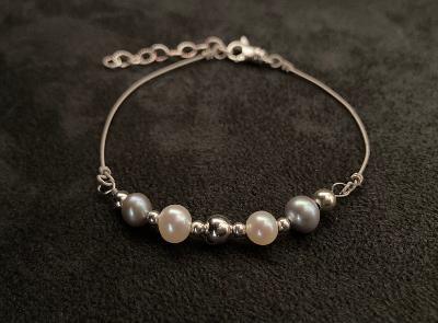 One-of-a-Kind Cultured Pearls Gregg Allman String Bracelet