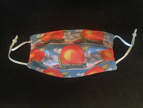 Peach Design, Cotton Adjustable Face Mask