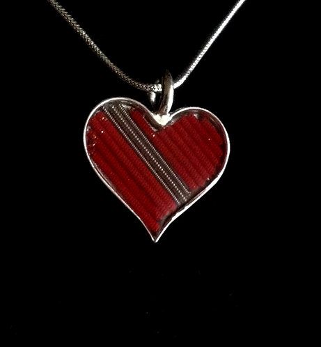Allman Brothers Red Heartstrings Pendant