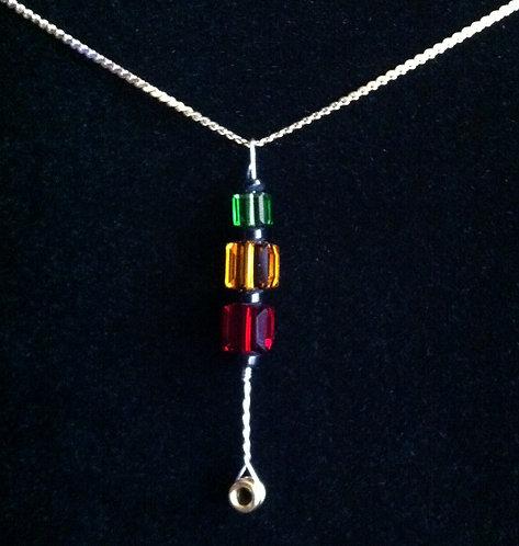 "Warren Haynes String ""Jamaica"" Necklace"