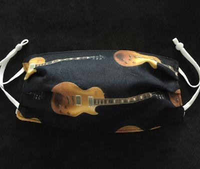 Duane Allman's Les Paul Goldtop Cotton Face Mask