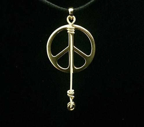 Gregg Allman Midnight Rider String & Peace Sign