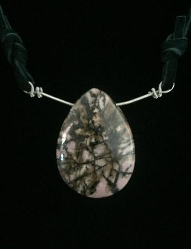 One-of-a-Kind Agate on Gregg Allman's String & Mushroom #40