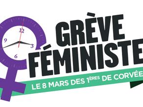 Grève féministe du 8 mars 2021 : poursuivons la lutte !