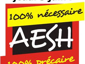 AESH : plus que jamais déterminé-es,en grève le jeudi 3 juin !