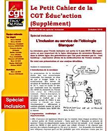 le petit cahier de la CGT education supp