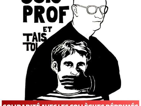 Actions contre la répression syndicale la semaine prochaine