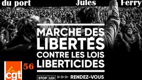 Retrait de la loi Sécurité globale : Marche des libertés et des justices le 5 décembre
