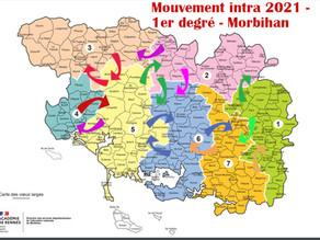 Mouvement intra 2021 jusqu'au 19 avril 2021 (midi)
