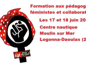 Formation aux pédagogies féministes et collaboratives