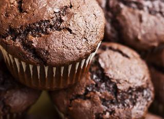Low-Carb-Schokoladenmuffins