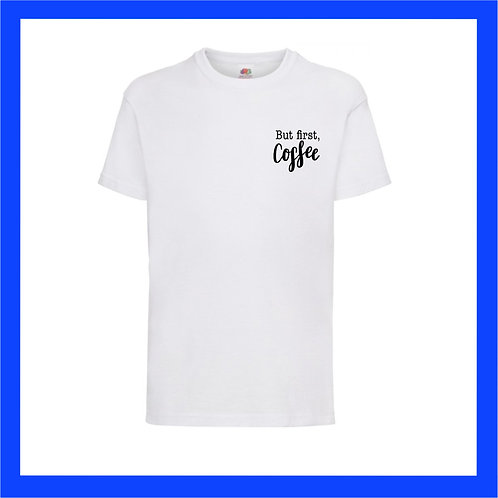 But first, coffee Tee - Limited edition vinyl