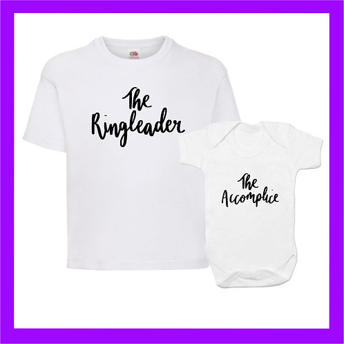 Ringleader and accomplice sibling set
