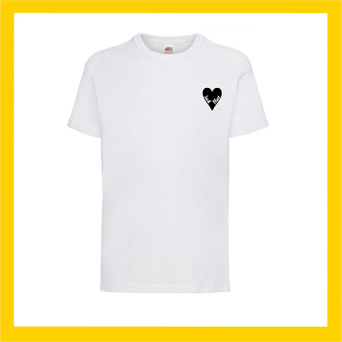 Children's names heart Tee  - Limited edition vinyls