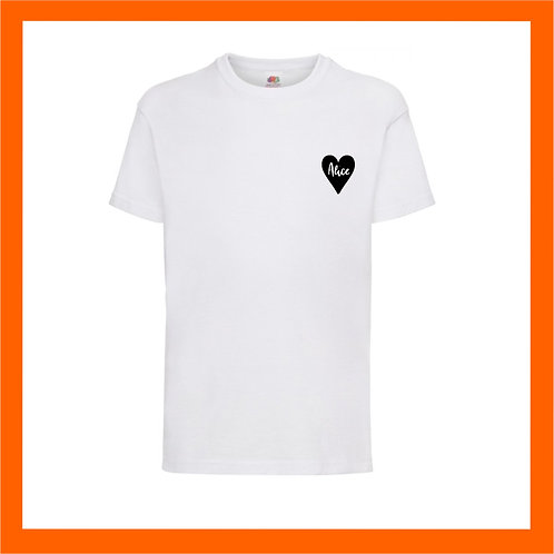 Name heart Tee - Limited edition vinyl