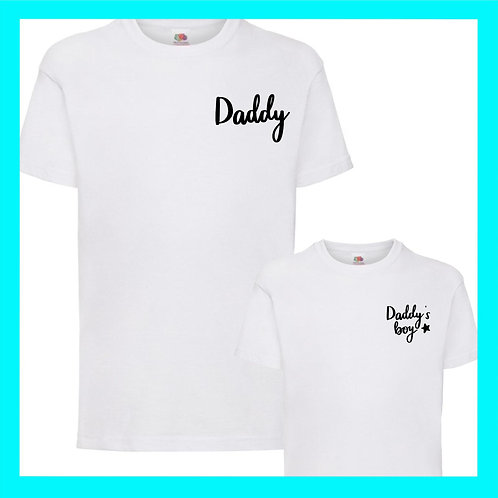 Daddy's boy matching set
