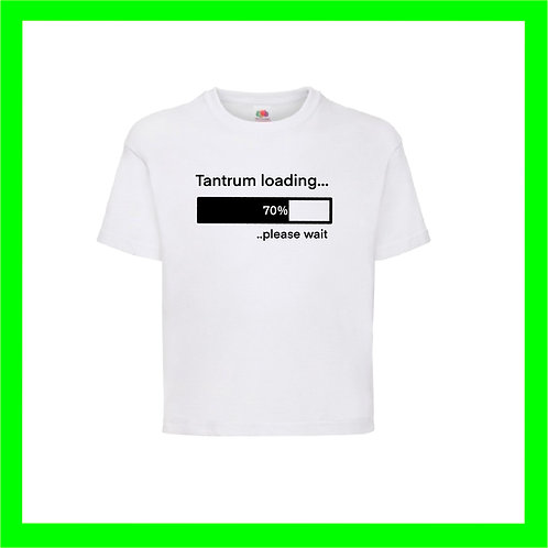 Tantrum loading.. - Limited edition vinyls