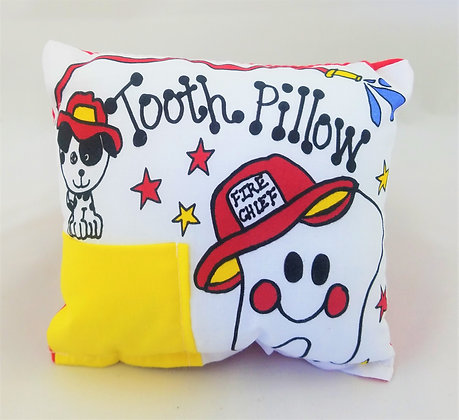 Fireman Tooth Pillow
