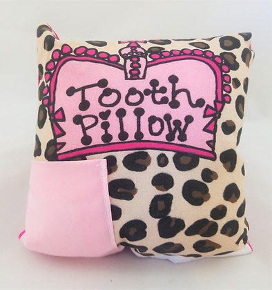 Cheetah Tooth Pillow