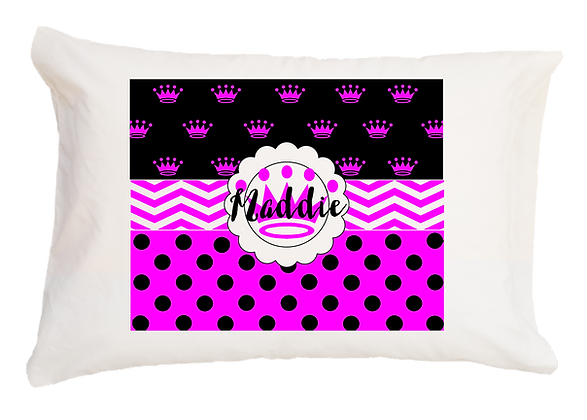 Maddie Style w/Custom Name Travel Pillow