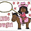 Thumbnail: Little Cowgirl Toddler Pillow