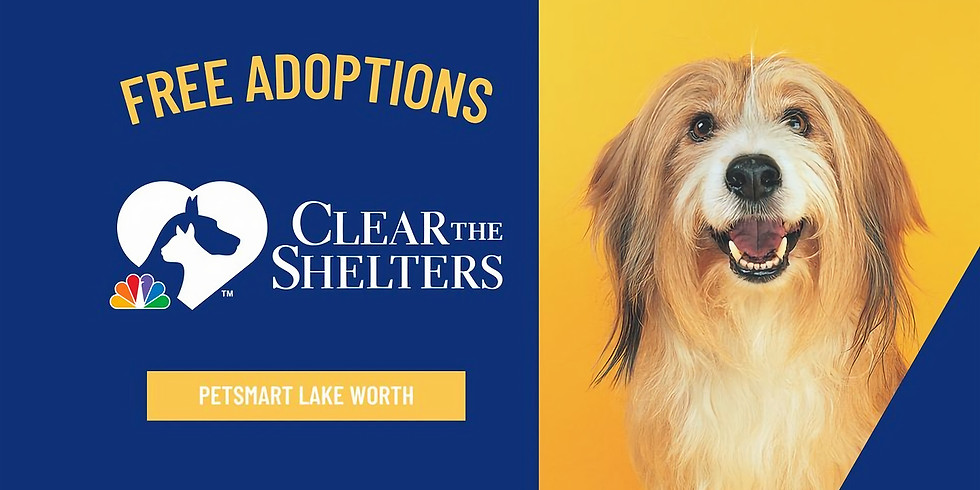 PetSmart at Lake Worth Clear the Shelters Adoption Event