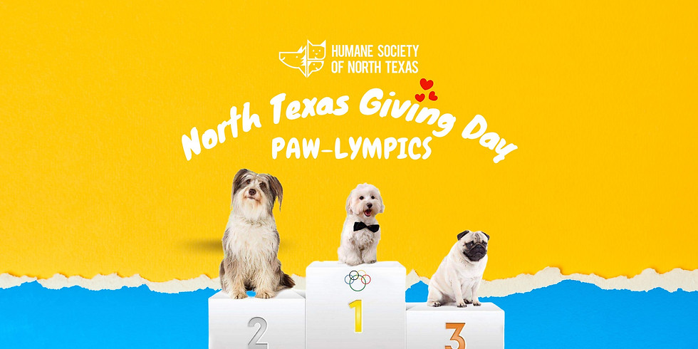 North Texas Giving Day PAW-lympics Giving Event